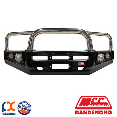 MCC FALCON BAR SS 3 LOOP - LAND CRUISER 70S (76) WITH FOG LIGHTS (03/07-PRESENT)