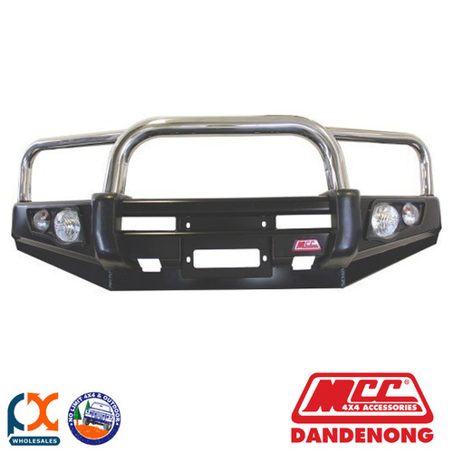 MCC FALCON STEEL WINCH BULL BAR – 3 LOOPS SUIT FORD RANGER PJ - 05001-001