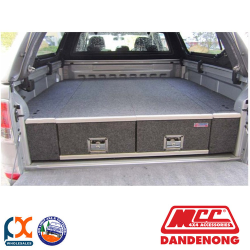 MCC BULLBAR DRAWER SYSTEM FIXED TOP SUIT HOLDEN RODEO (RA) (03/2003-03/2007)