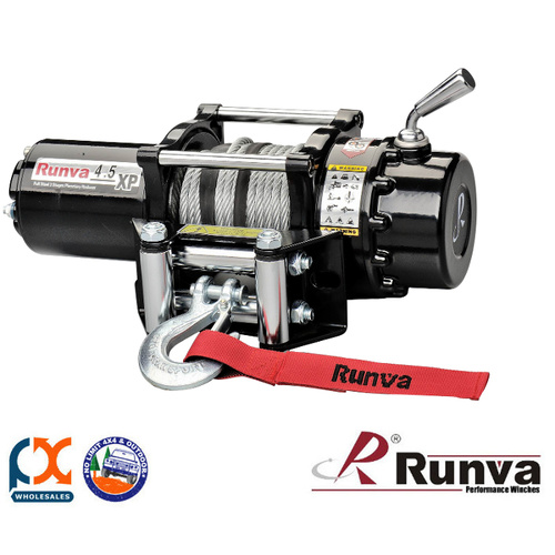 RUNVA ATV SERIES 4.5X 24V WITH STEEL CABLE