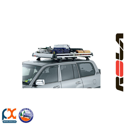 ALLOY LUGGAGE TRAY ONLY FITS ALL POPULAR ROOF RACK SYSTEMS - KIT TYPE 26