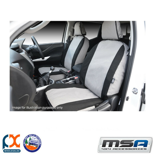 MSA SEAT COVERS FOR FORD COURIER COMPLETE FRONT & SECOND ROW SET - BC00CO