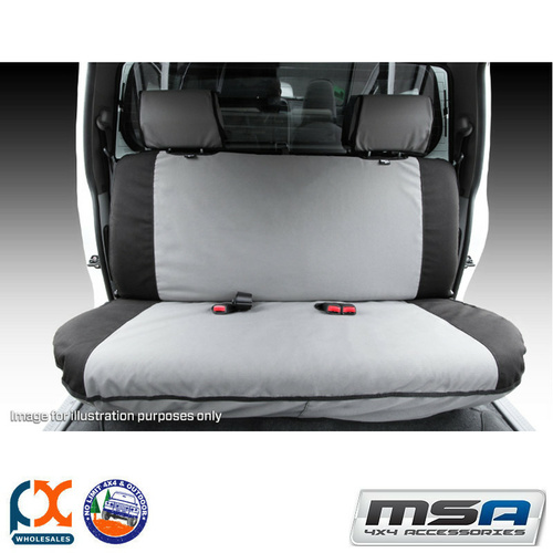 MSA SEAT COVERS FOR FORD COURIER REAR FULL WIDTH BENCH - BC04