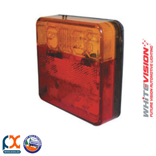 CRL14LEDVRH LED Combination Lamp with Lic Plate 10-30V 0.5M - Box