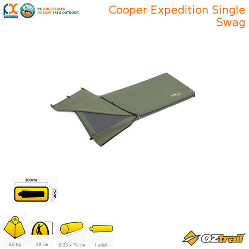 OZTRAIL COOPER EXPEDITION SINGLE SWAG