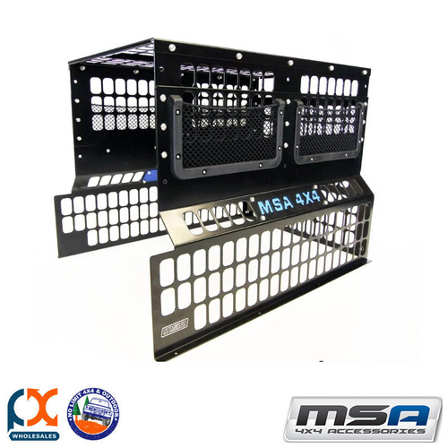 MSA 4X4 FRIDGE BARRIER TO SUIT SL95 STRAIGHT SLIDE