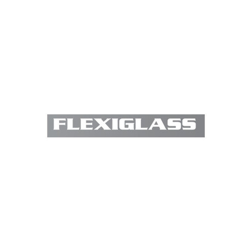 FLEXIGLASS HOLDEN COLORADO RG  - DUAL CAB FLEXIEDGE LIFT UP WINDOOR X 2 (SS) - NITRATE