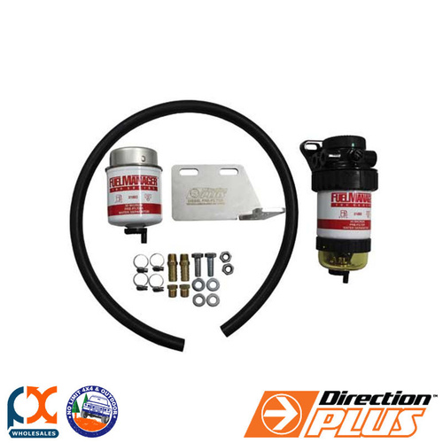 DIRECTION PLUS DIESEL PRE FILTER KIT FITS TOYOTA PRADO 120/150 SERIES D4D-12/13
