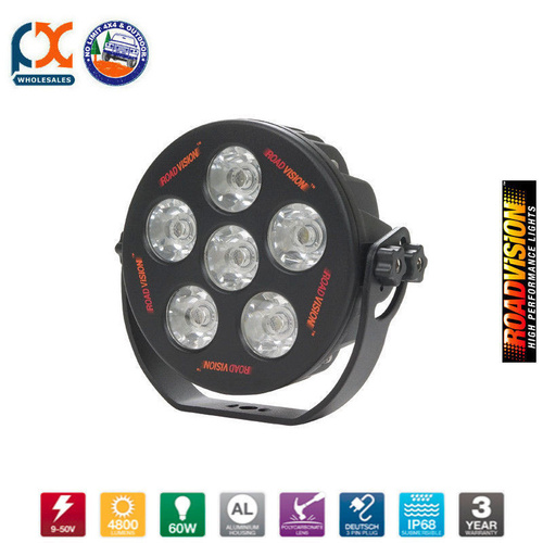 LED6100S LED WORK LAMP 6100 ROUND SPOT