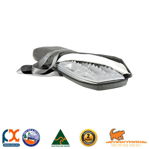 MAXTRAX TITANIUM GREY CARRY BAG - RECOVERY EXTRACTORS GENUINE 4WD OFF ROAD