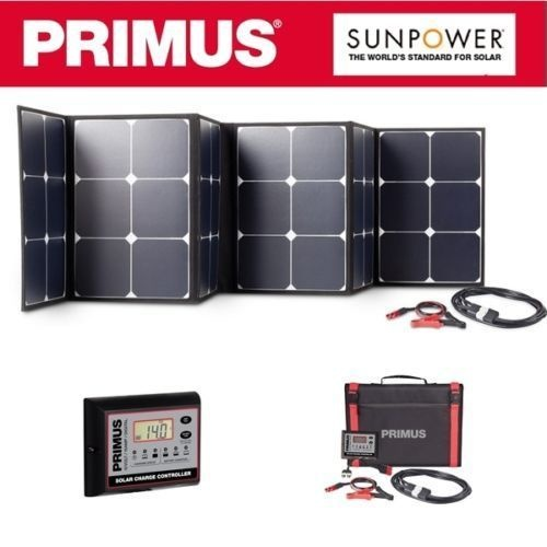 PRIMUS SUNPOWER 200 WATT SOLAR MAT BLANKET 6 CELL PANEL & REGULATOR KIT