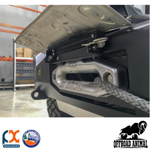 OFFROAD ANIMAL BULL BAR NUMBER PLATE FLIP