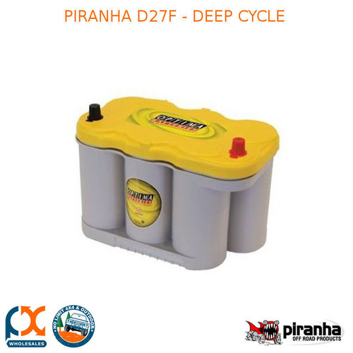 PIRANHA D27F - DEEP CYCLE
