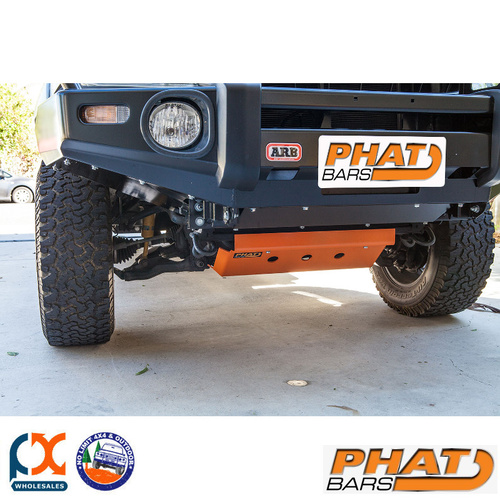 PHAT BARS HILUX BASH PLATE & SUMP PLATE SET - POWDER COATED