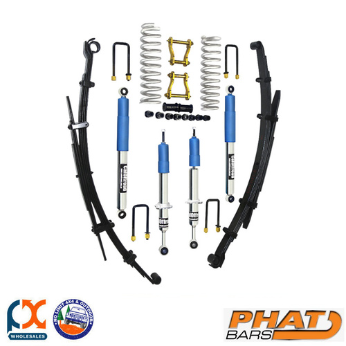 PHAT BARS CALOFFROAD PLATINUM BILSTEIN TOUR PACK 2 or 3″ LIFT - HILUX N70 & N80