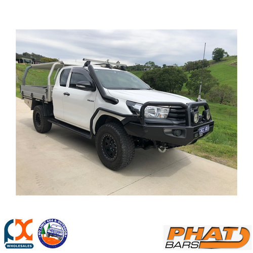 PHAT BARS FITS TOYOTA HILUX N80 LONG ENTRY SNORKEL