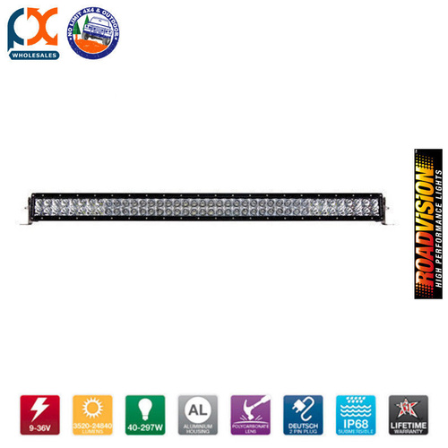"RVW15031 LED WORK LAMP 50"" E SERIES BAR COMBO"