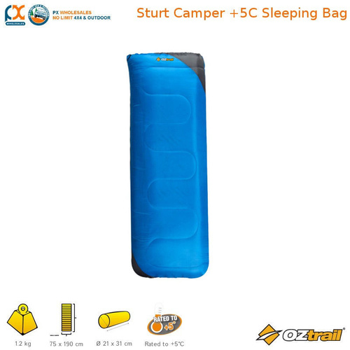 OZTRAIL STURT CAMPER +5C SLEEPING BAG