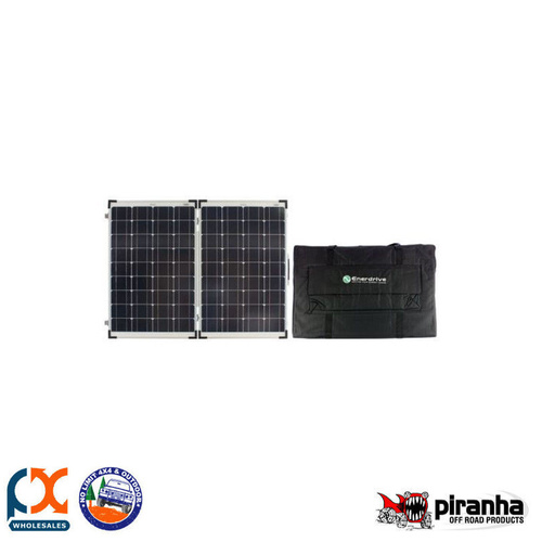 PIRANHA 120W SOLAR PANEL KIT
