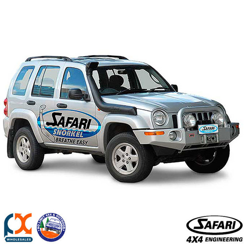 SAFARI SNORKELS JEEP CHEROKEE/LIBERTY KJ