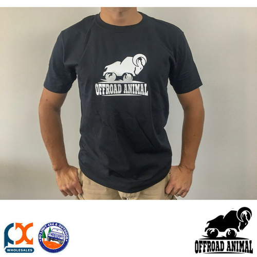 OFFROAD ANIMAL BLACK T-SHIRT