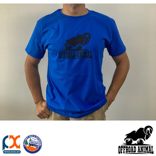 OFFROAD ANIMAL BLUE T-SHIRT