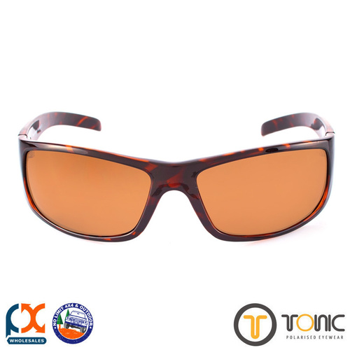 TONIC BONO SHINY TORTOISE GLASS PHOTOCHROMIC COPPER G2 SLICELENS