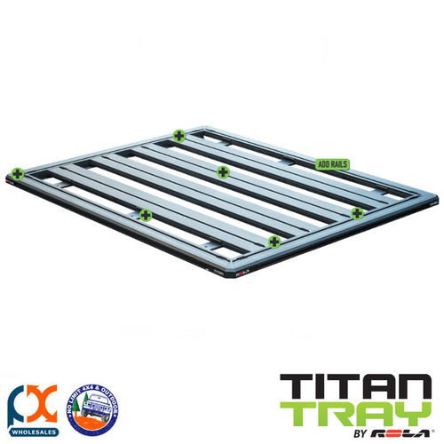 TITAN TRAY SINGLE CAB AND DUAL CAB UTES - TFT1212