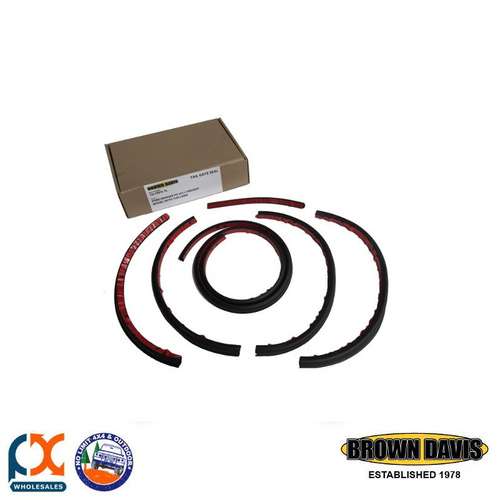 BROWN DAVIS SERIES 1 & 2 TAIL GATE SEAL KIT FOR FORD RANGER PX 2011-PRESENT