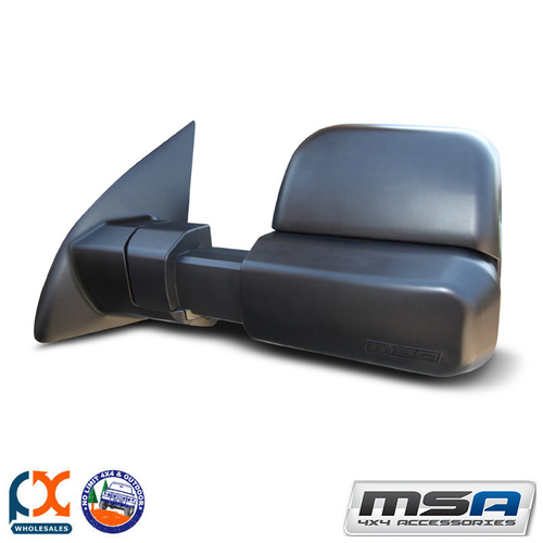 MSA 4X4 TOWING MIRROR (BLACK HEATED ELECTRIC) FORD RANGER 2012-CURRENT
