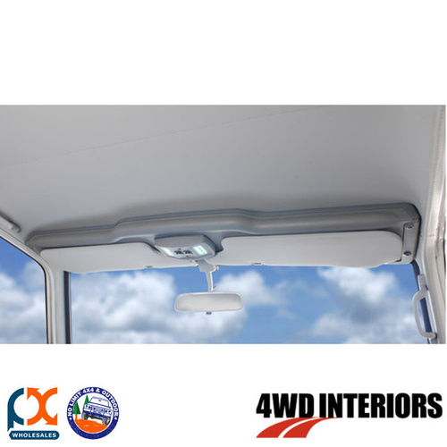 OUTBACK 4WD INTERIOR TOP SHELF INC LED LIGHT POD LANDCRUISER TC JUNE1985-MAY2009