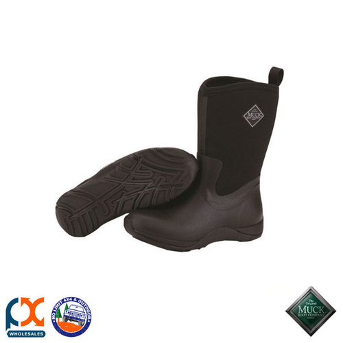 MUCK BOOT - COLD WEATHER -  WOMEN'S ARCTIC WEEKEND BOOT BLACK - WAW-000