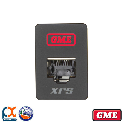 GME XRS-RJ45R1 PASS-THROUGH ADAPTOR - TYPE 1 (RED)